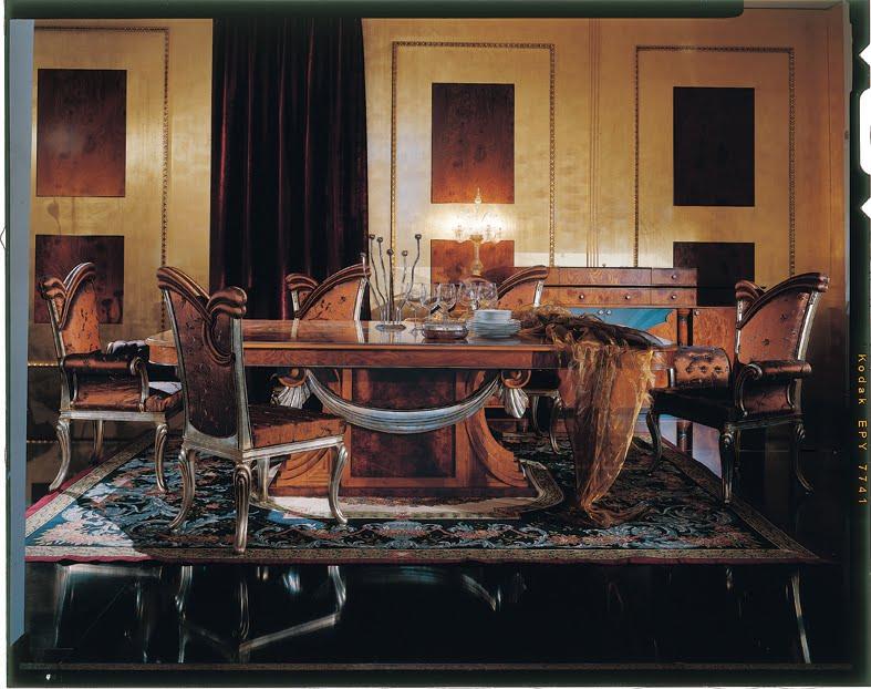 Contemporary dining room set