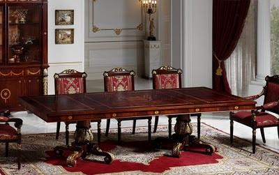 Antique Italian Classic Furniture Spanish Style Decorating