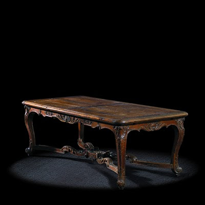 Carved Furniture Antiques Reproductions on French Antique Furniture Reproductions  Regency Dining Room Table