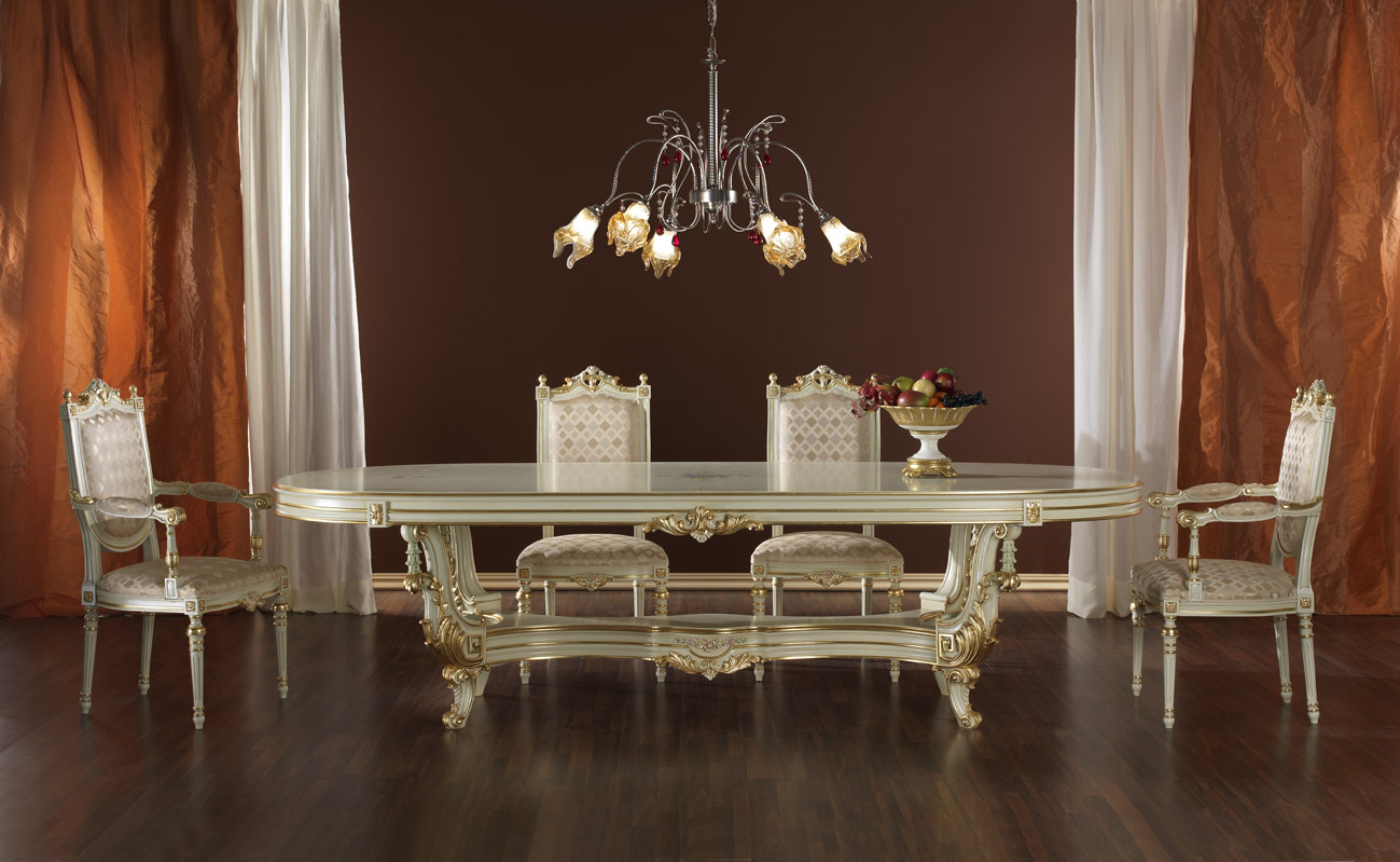 Antique italian classic furniture classical italian furniture - Dining rooms furniture ...