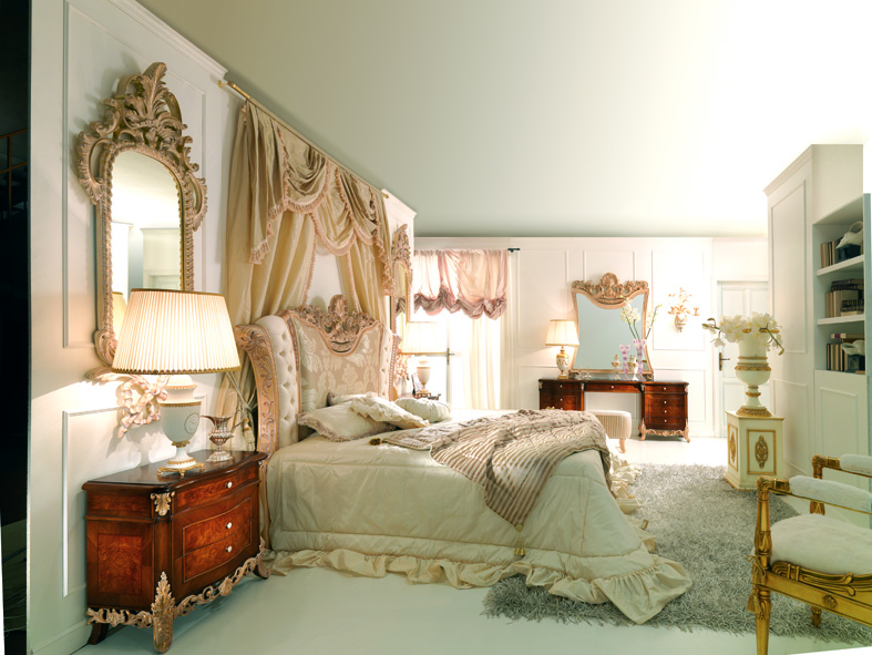 Home Design French Style Bedrooms