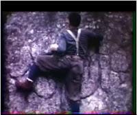 Escalades à Fontainebleau dans les années soixante
