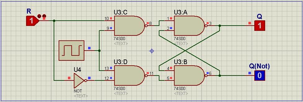 Circuito Flip Flop : Circuitos digitales memoria rom flip flop