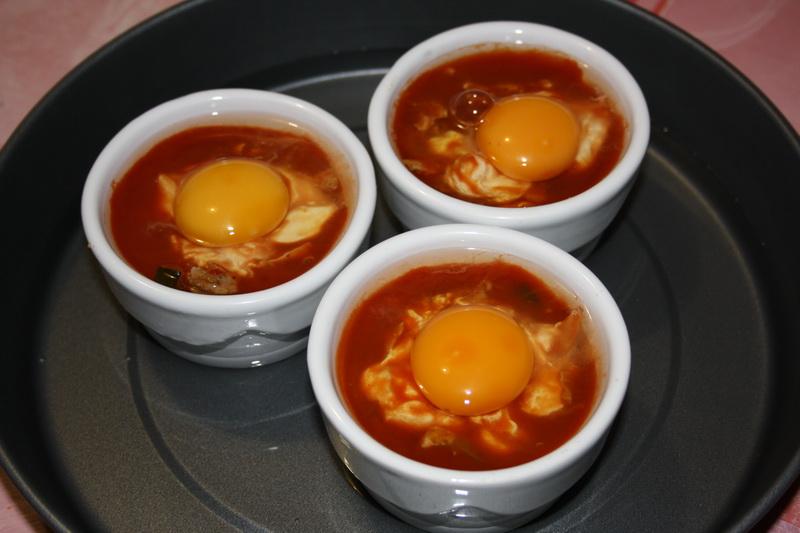 Plage ou cuisine cuisiner les restes oeufs cocotte - Cuisiner avec les restes ...