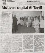Keratan Akhbar Program Anjuran Al Tartil Centre