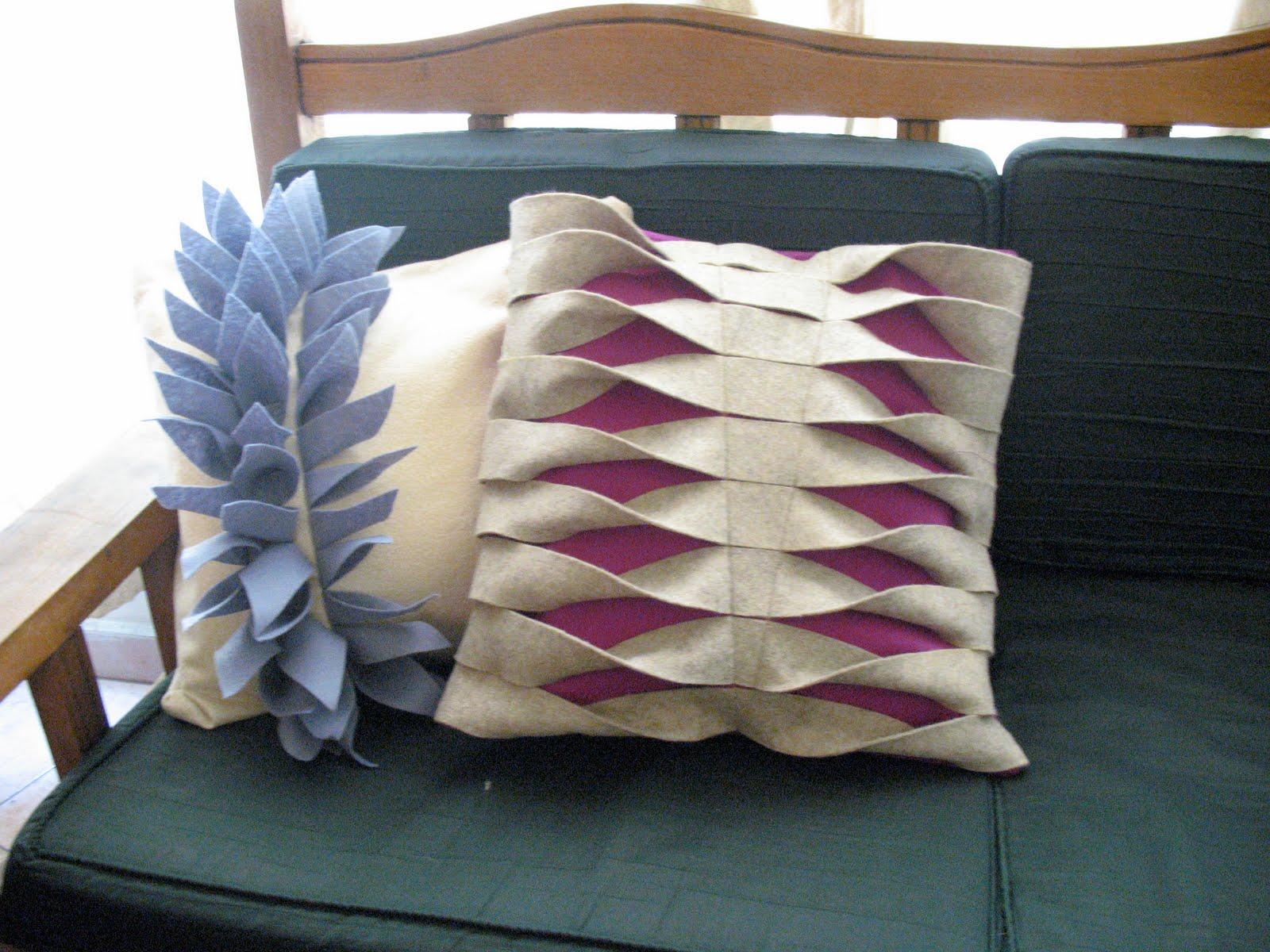 Cojines decorativos de fieltro imagui - Fotos de cojines decorativos ...