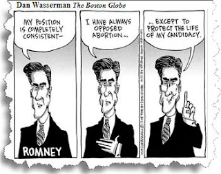 Any way the wind blows. Romney the flip flopper.