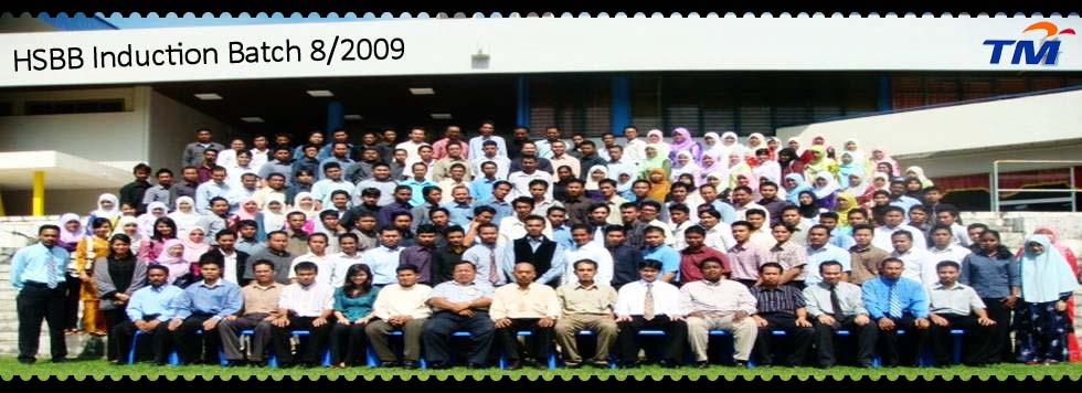 HSBB Induction Batch 8/2009