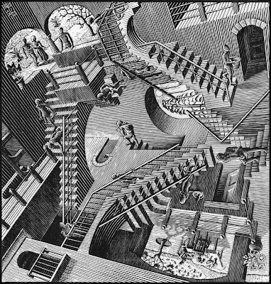 An Ocean Of Knowledge An Inch Deep: MC Escher Jigsaw