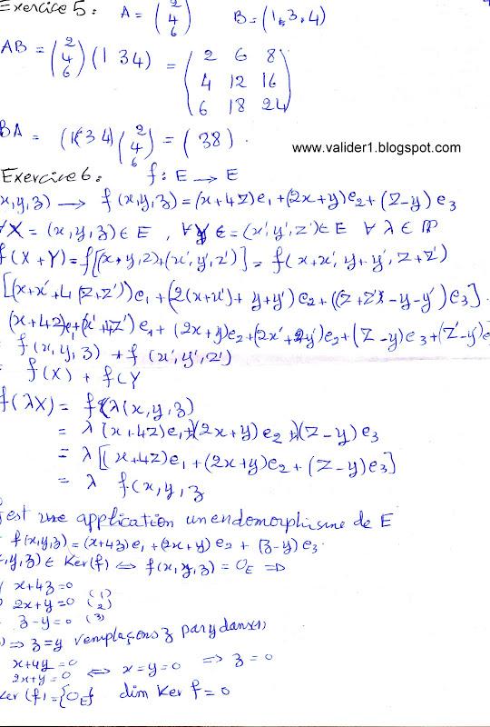 Td Algebre S1 Corrig Pdf \/ Adobe Creative Cloud Design ...