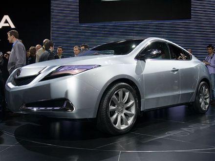 Acura  on 2009 Acura Zdx