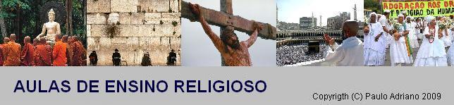 Aulas de Ensino Religioso
