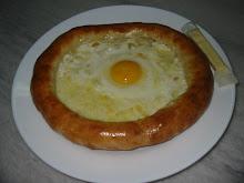 Peynirli Yumurtalı Yağlı pide