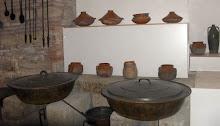 Eski mutfak düzeninden bir örnek