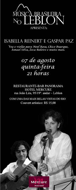 MÚSICA BRASILEIRA NO LEBLON