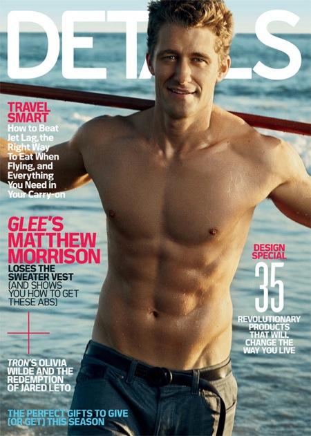 [MAGAZINE COVER] Matthew Morrison (Details)