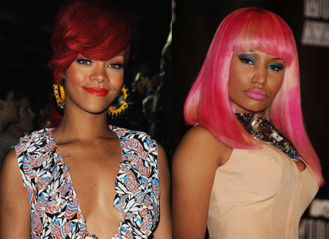 Nicki Minaj and Rihanna are set to record a music video for Minaj's Fly!