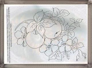 maças e flores