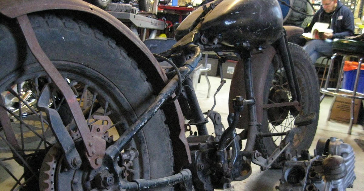 Noot harley 45 military bike 1952 wla for Planet motors on military