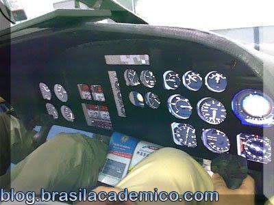 Simulador de Helicóptero - Painel