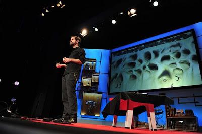Magnus Larsson, arquiteto de dunas, como ele se autodenomina