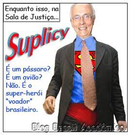 Super Suplicy. O senador de cueca no Senado