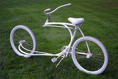 Bicicleta sem garfo