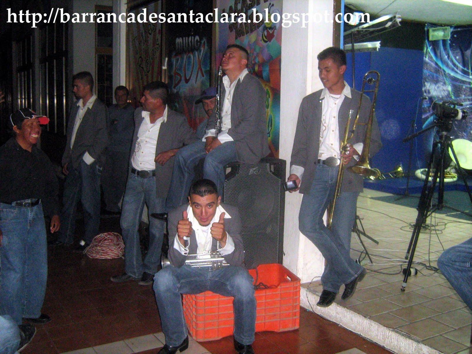 Barranca De Santa Clara Banda Cerro Blanco En Cuatro