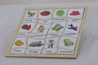 Ingilizce dil öğretim oyuncakları