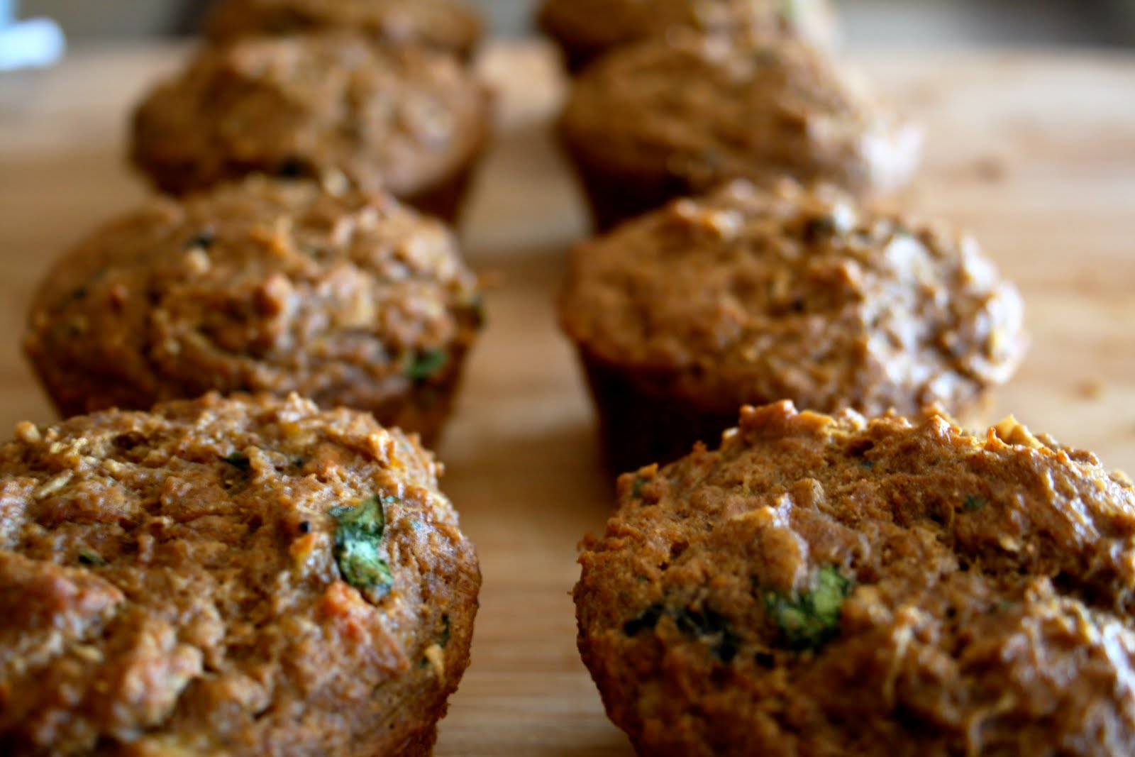 ... At First Bite....Eating for a healthier life: Morning Glory Muffins