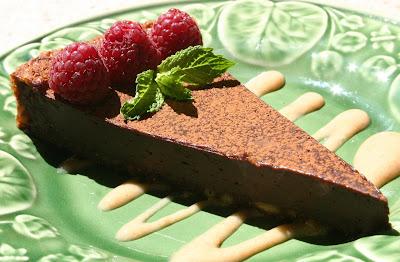 Flourless+Chocolate+Tart catering san diego wedding catering