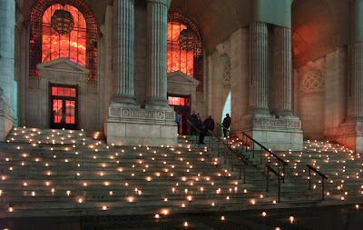 Wedding Places on On Location With Rick Lee  New York Public Library    With Lights