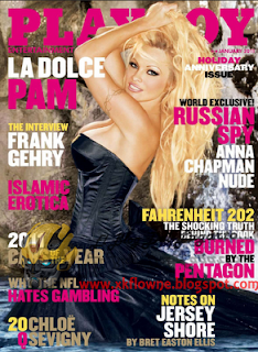 Revista: Playboy USA - Pamela Anderson [PDF | 54.18 MB]