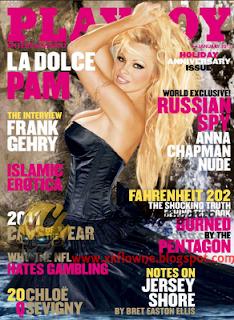 Revista: Playboy USA - Pamela Anderson [PDF | 54.18 MB]