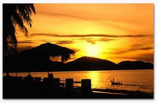 scene of a Malaysian shore