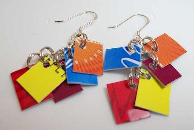Mini Take Credit Earrings