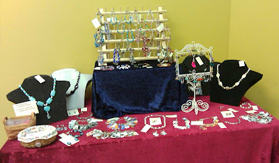 My tabletop jewelry display