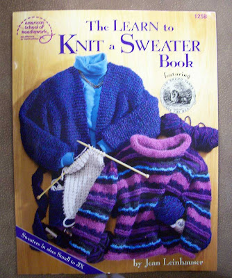 My new knitting book