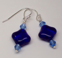 Color Me Blue Earrings