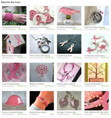Race for the Cure Etsy Treasury