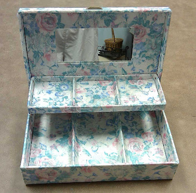 Inside of jewelry box
