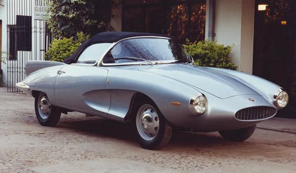 1957 Fiat Stanguellini 1200 Spider
