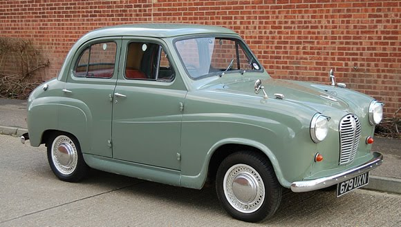 the a30 was austin s answer to the morris minor and was smaller and