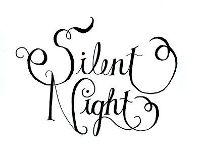 Dear Lillie: Silent Night, Holy Night Templates