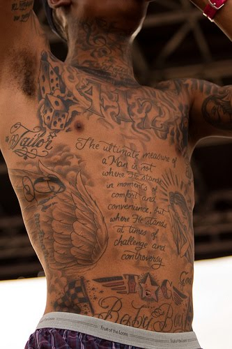 wiz khalifa body tattoos