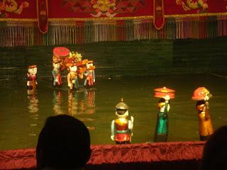 Water Puppet Show Saigon