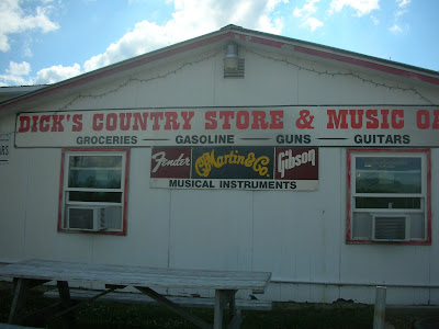 country store in America with guns for sale