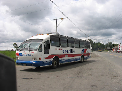 Buses in South America