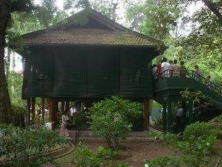Ho Chi Minh stilt house