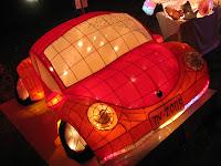 Taiwan Lantern Festival red car